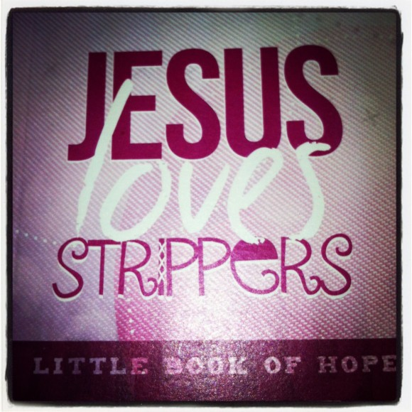 Jesus Loves Strippers Booklet Cover