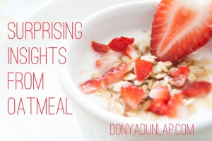 Surprising Insights from Oatmeal